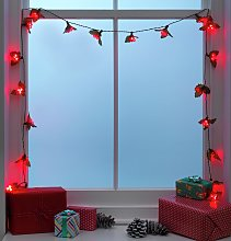 Argos Home 20 Holly and Berry Cluster String