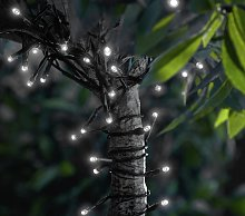 Argos Home 200 Warm White LED Solar String Lights