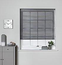 Argos Home 25mm PVC Venetian Blind - Flint Grey