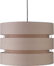Argos Home 3 Tier 30cm Lamp Shade - Cafe Mocha