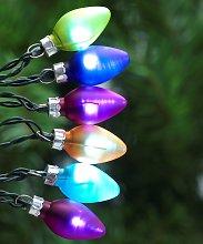 Argos Home 40 Multicoloured Retro Bulb LED Lights