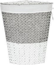 Argos Home 45 Litre Corner Rope Laundry Bin - Grey
