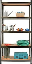 Argos Home 5 Tier Steel Heavy Duty Garage Shelving