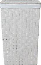 Argos Home 60 Litre Yarn Laundry Bin - White