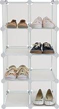 Argos Home 8 Interlocking Shoe Storage Boxes -