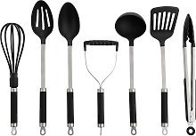Argos Home 8 Piece Stainless Steel Utensil Set