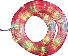 Argos Home 80 Multicoloured Tube LED String Lights