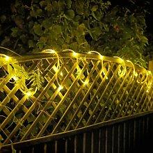 Argos Home 80 Warm White LED Tube String Lights -