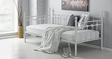 Argos Home Abigail Metal Day Bed and Mattress -