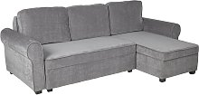 Argos Home Addie Reversible Corner Fabric Sofa -