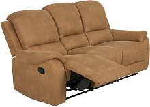 Argos Home Alfie 3 Seater Faux Leather Recliner