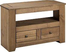 Argos Home Amersham 2 Drawer Solid Wood TV Unit -