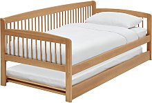 Argos Home Andover Wooden Day Bed with Trundle -