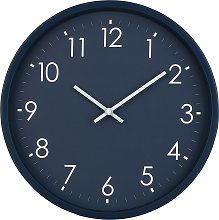 Argos Home Apartment Living Wall Clock - Blue
