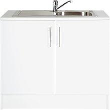 Argos Home Athina 1000mm S.Steel Kitchen Sink Unit