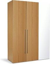 Argos Home Atlas 3 Door Mirrored Tall Wardrobe -
