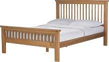 Argos Home Aubrey Superking Bed Frame - Oak Stain