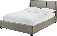 Argos Home Austen Ottoman Double Bed Frame - Grey