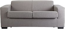 Argos Home Ava 2 Seater Fabric Sofa Bed - Light