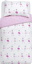 Argos Home Ballerina Bedding Set - Single