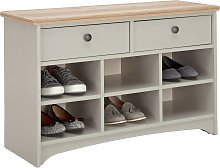 Argos Home Baltimore Hallway Shoe Bench - Two Tone