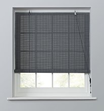Argos Home Bamboo Roller Blind - 3ft - Grey