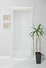 Argos Home Beaded Door Curtain - White