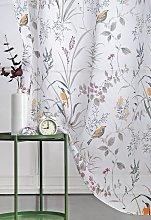 Argos Home Birds Voile Curtain Panel -