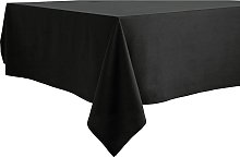 Argos Home Black Table Cloth