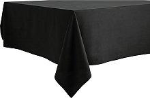 Argos Home Black Table Cloth
