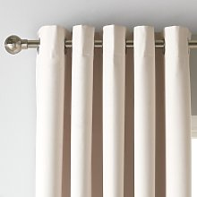 Argos Home Blackout Eyelet Curtain - Cream