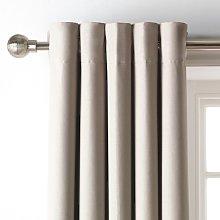 Argos Home Blackout Eyelet Curtain - Mocha