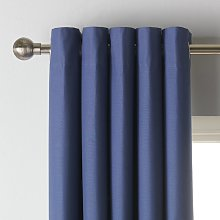Argos Home Blackout Eyelet Curtain - Navy