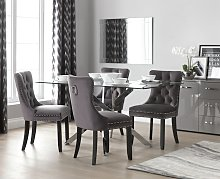 Argos Home Blake Dining Table & 4 Princess Chairs