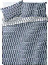 Argos Home Blue Sticks Bedding Set - Kingsize