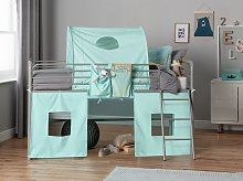 Argos Home Blue Tunnel & Tent for Kids Mid Sleeper