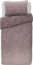 Argos Home Blush Zebra Ombre Bedding Set - Single