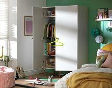 Argos Home Bodie 2 Door Tall Wardrobe - White