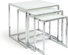 Argos Home Boutique Nest of 3 Tables - Marble