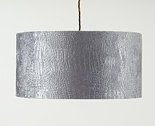 Details about Argos Home Beaded Chrome Finish Chandelier Shade Choice of Colour