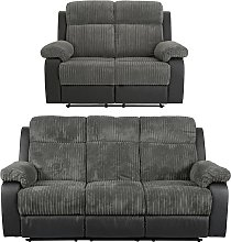Argos Home Bradley 2 & 3 Seater Recliner Sofa -