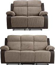 Argos Home Bradley 2 Seater & 3 Seater Recline