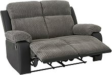 Argos Home Bradley 2 Seater Fabric Recliner Sofa -