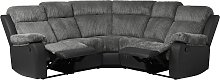 Argos Home Bradley Corner Fabric Recliner Sofa -