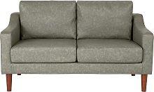 Argos Home Brixton 2 Seater Faux Leather Sofa -