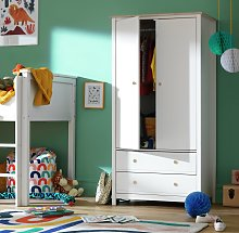 Argos Home Brooklyn 2 Door 2 Drawer Wardrobe -