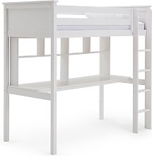 Argos Home Brooklyn High Sleeper Bed, Desk &