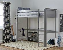 Argos Home Brooklyn High Sleeper Bed Frame - Grey