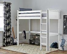 Argos Home Brooklyn High Sleeper Bed Frame - White
