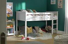 Argos Home Brooklyn Mid Sleeper Bed Frame - White